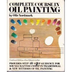 Complete Course in Beginning Oil painting. Four Volumes in One