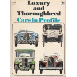 Luxury and Thoroughbred Cars in Profile
