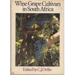 Wine Grape Cultivars in South Africa