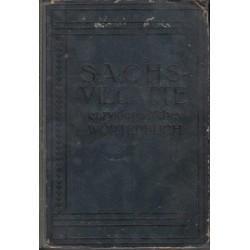 Sachs-Villatte: Dictionnaire Encyclopedique Francais-Allemand/Allemand-Francais (2 vols)