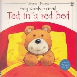 Ted In A Red Bed (Easy Words To Read Series)