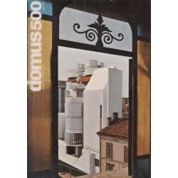 DOMUS Architettura Arredamente Arte July 1971 No 500
