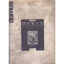 DOMUS Architettura Arredamente Arte August 1971 No 501