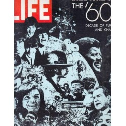 Life Magazine Volume 47 , No. 13: Special Double Issue The '60s Decade of Tumult and Change
