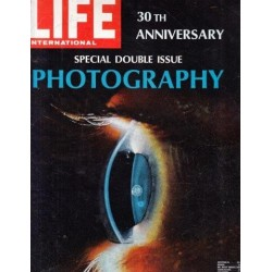 Life Magazine Volume 61 , No. 26: 30th Anniversary Special Double Issue: Photography