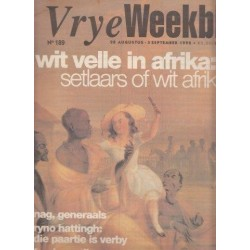 Vrye Weekblad No. 189 28 Augustus-3 September 1992