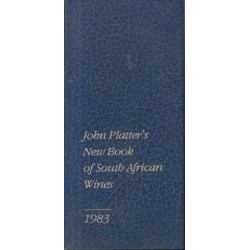 John Platter's Book of South African Wines 1983