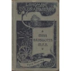 Miss Badsworth, M. F. H.