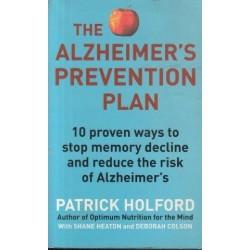 The Alzheimer's Prevention Plan