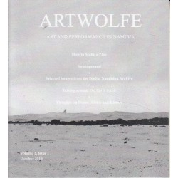 Artwolfe: Art and Performance in Namibia Vol. 1 Issue 1