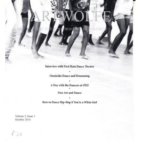 Artwolfe: Art and Performance in Namibia Vol. 2 Issue 1