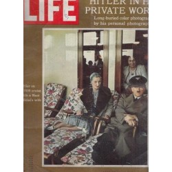 Life Magazine Volume 48, No. 10 May 25 ,1970 Hitler in his Private World