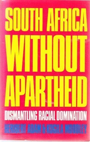South Africa Without Apartheid, Adam, Heribert