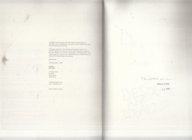 The Drain of Progress: A Catalogue Raisonne (Signed and numbered), Blom, Zander