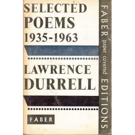 Lawrence Durrell: Selected Poems 1935-1963