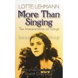 More Than Singing: The Interpretation of