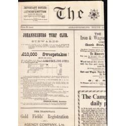 The Star 1889 (Facsimile Reprint)