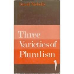 Three Varieties of Pluralism