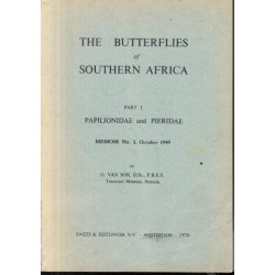The Butterflies Of Southern Africa : Part1 Papilionidae and Pieridae