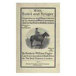 With Bobs and Kruger Anglo-Boer War Reprint Library Volume II