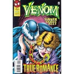 Venom Sinner Takes All Vol. 1 No. 5 Dec 1995