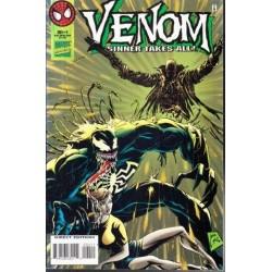 Venom Sinner Takes All Vol. 1 No. 4 Nov 1995