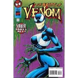 Venom Sinner Takes All Vol. 1 No. 3 Oct 1995