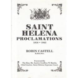 St. Helena Proclamations 1818-1943