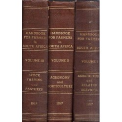 Handbook for Farmers in South Africa - 3 Volumes
