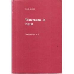 Watername in Natal
