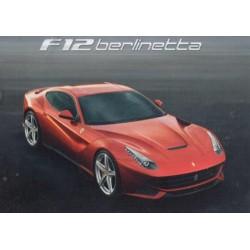 2012 Ferrari F12 Berlinetta Hardcover Brochure Prospekt (Italian/English)