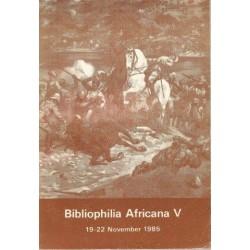 Bibliophilia Africana V