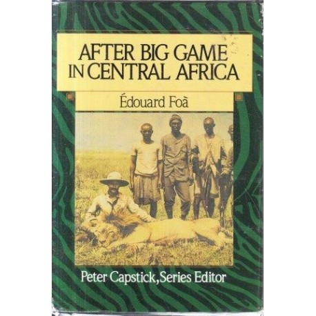 Image result for after big game in central africa book