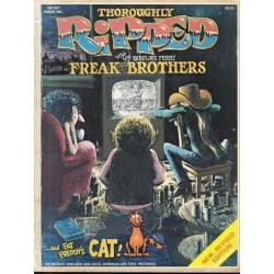 Thoroughly Ripped with the Fabulous Furry Freak Brothers and Fat Freddy's Cat!
