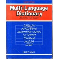 South African Multi-Language Dictionary and Phrase-Book