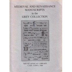 Medieval and Renaissance Manuscripts in the Grey Collection