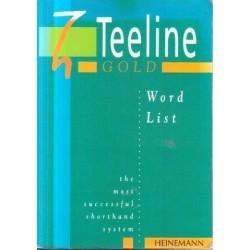 Teeline Gold: Word List