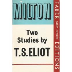 Milton Two Studies by T.S. Eliot
