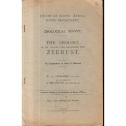 The Geology of the Country Lying Northwards from Zeerust: An Explanation of Sheet 9 (Marico)