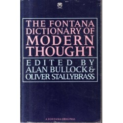 The Fontana Dictionary Of Modern Thought