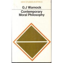 Contemporary Moral Philosophy
