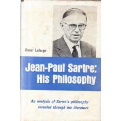 Jean-Paul Sartre: His Philosophy