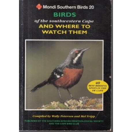 Birds of the Southwestern Cape and Where to Watch Them