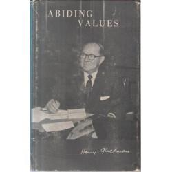 Abiding Values