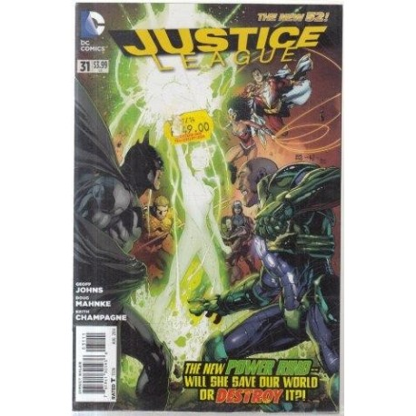The New 52: Justice League 31