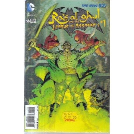 The New 52: Batman & Robin 23.3 - Ra's al ghul and the League of Assassins 1