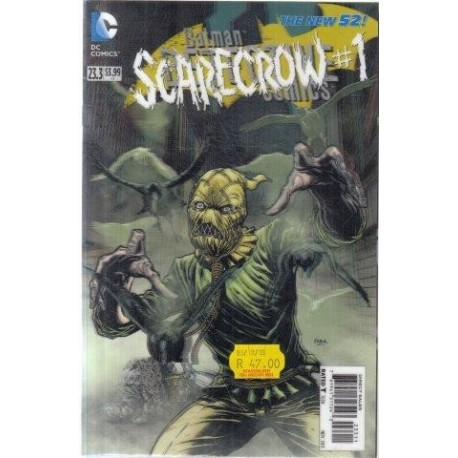The New 52: Detective Comics 23.3 - Scarecrow 1