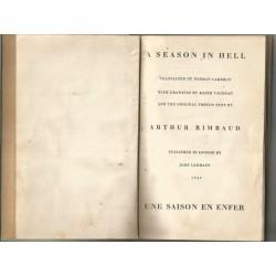 A Season in Hell / Une Saison En Enfer