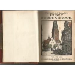 Huset Buddenbrook (First Danish Edition)