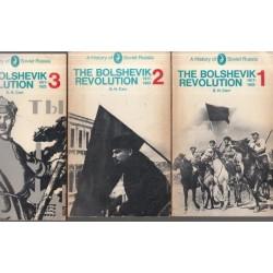 The Bolshevik Revolution 1917-23 - Vols  1-3